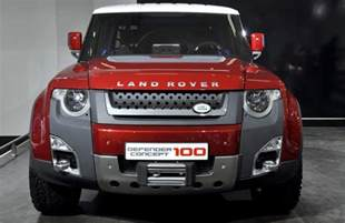 new model cars 2016 new 2016 land rover defender concept future cars models