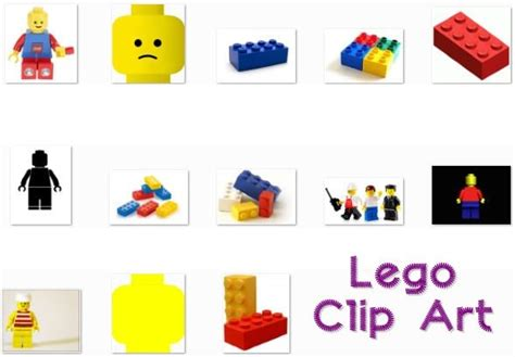 Lego Graphic 8 lego clip lot of 13 it s free scrappng