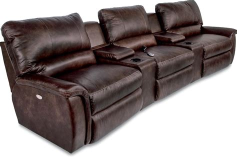 La Jolla Theater With Recliners by La Z Boy Aspen Five Reclining Home Theather