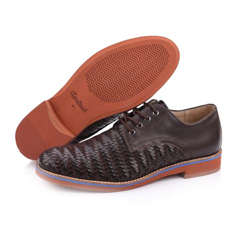 shoe suppliers mens woven leather shoes suppliers and manufacturers
