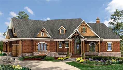 Cottage House Plans With Basement | lake cottage house plans lake house plans walkout basement