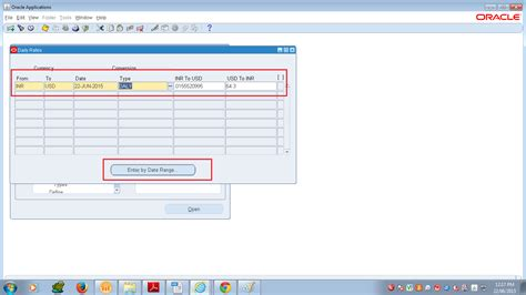 currency converter with date range oracle apps translation