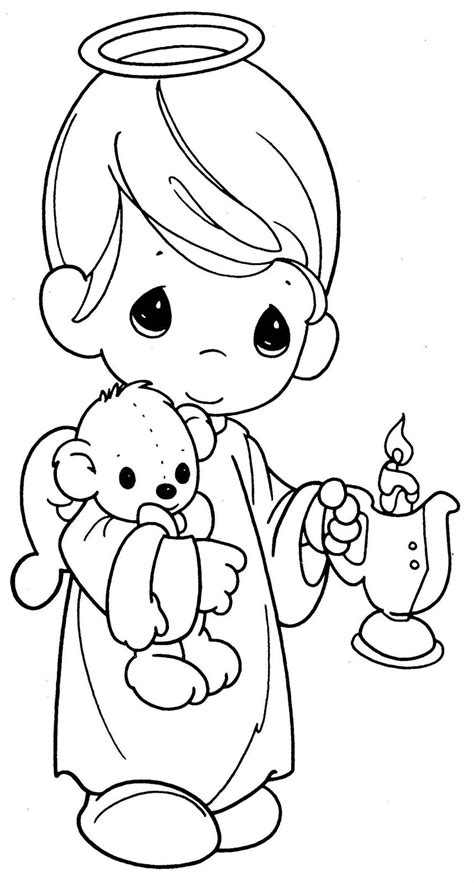 coloring pages precious moments jesus loves me 193 ngeles para colorear