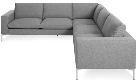 Small Modern Sectional Sofas New Standard Small Sectional Sofa Hivemodern