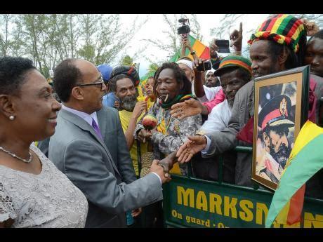 Travel To Jamaica With A Criminal Record Rastafari Reflections Grange Marks Selassie I S Birthday With Renewed Pledge To