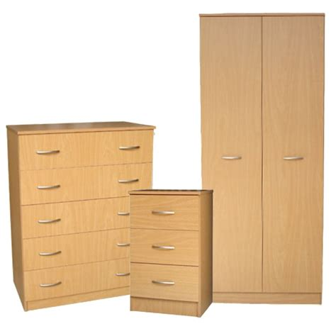 beech bedroom set