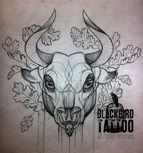 ox tattoo designs 17 best ideas about bull tattoos on taurus