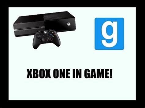 gmod game console mod full download gmod video game consoles mod xbox one ps4