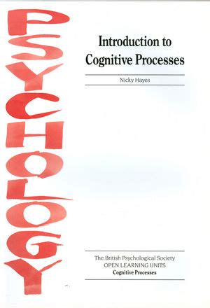 cognitive psychology interactive ebook theory process and methodology books wiley introduction to cognitive processes nicky