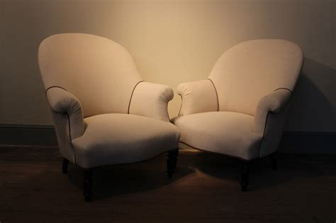 Upholstered Armchairs Uk by Pair Of 19th Century Upholstered Armchairs Sofas