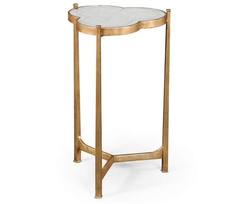 Mirrored Side Table Mirrored Side Table Gold Swanky Interiors