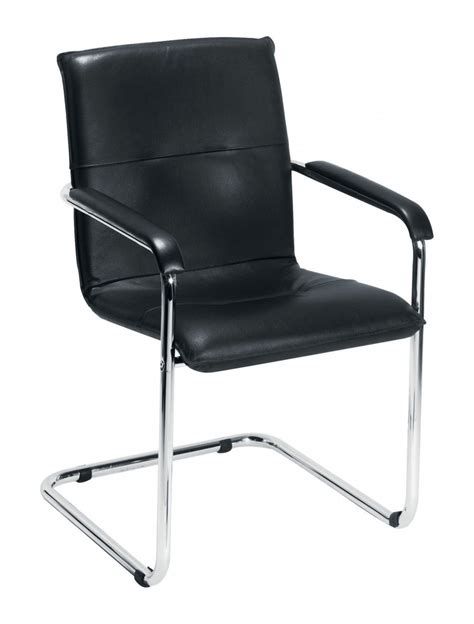 Visitor Chair by Sorrento Ch0235 Leather Visitors Chair 121 Office Furniture
