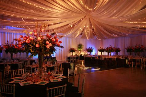 ceiling draping wedding how to decorate an ugly venue weddingbee