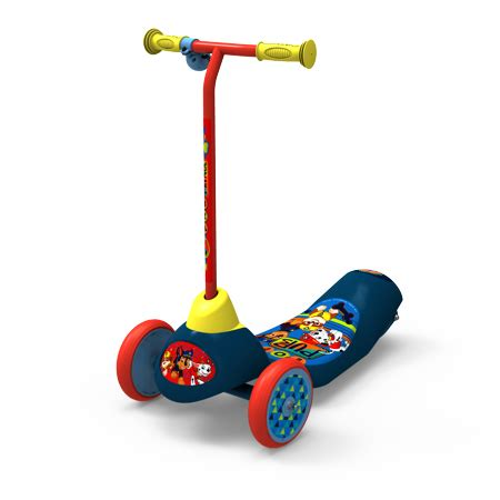 Electric Pets Paw Patrol playwheels safe start paw patrol electric 3 wheel scooter