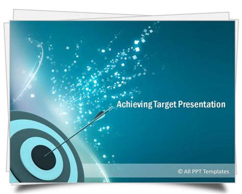 powerpoint achieving target template