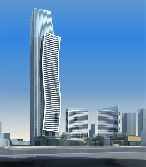 High Rise high rise office building 067 3d model