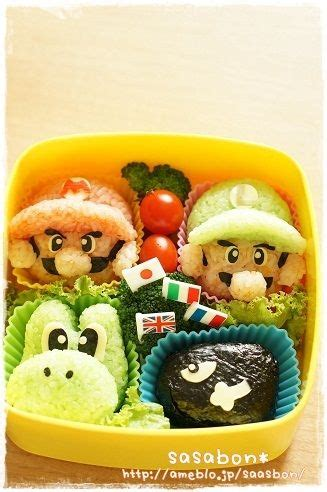 Some Sushi Mario Style With The Mario Bento Boxes by 57 Best Images About Bento Boxes Newest Obsession On