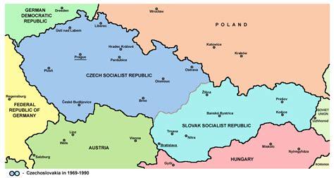 czechoslovakia map file czechoslovakia png wikimedia commons