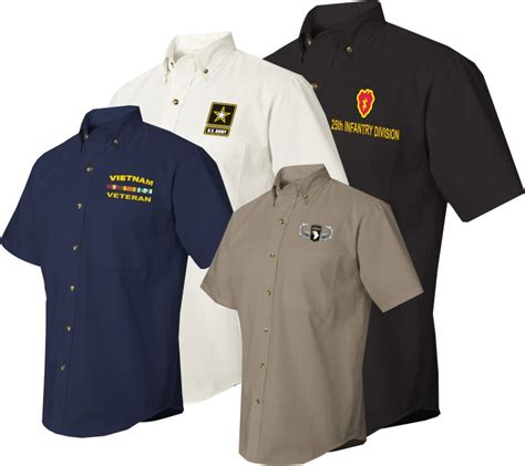 custom embroidery shirts u s army custom embroidered dress shirts