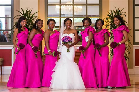 Wedding Digest Naija: Our Top 4 Bridesmaid Dress Trends