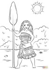 coloring pages moana princess moana coloring page free printable coloring pages