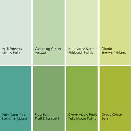 paint colors green shades bathed in color when to use green in the bath