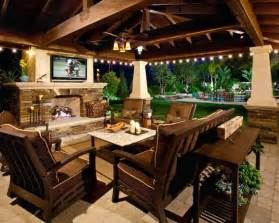 outdoor living spaces plans a big screen tv under a covered patio would be such a great addition to your backyard porch