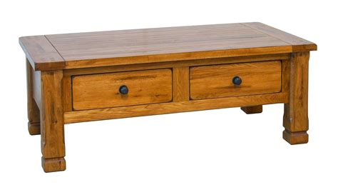 rustic oak coffee table oak coffee table rectangular oak