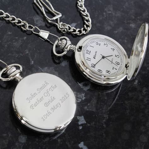 engraved pocket and chain find me a gift