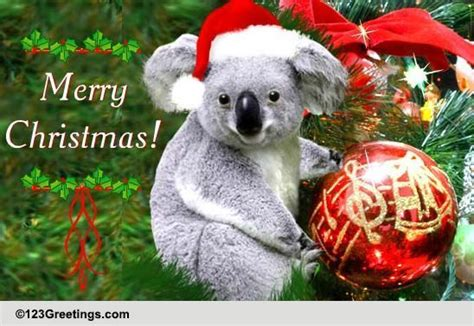 christmas  australia  summer ecards greeting cards