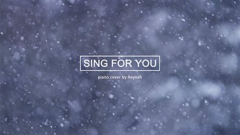Is For You by Quot Sing For You Quot Piano Cover 피아노 커버 Exo 엑소