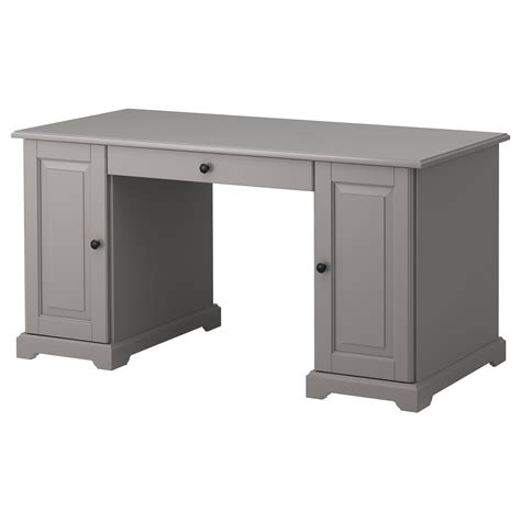 Ikea Desk Small Liatorp Desk Grey 145x65 Cm Ikea