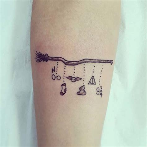 small harry potter tattoos 25 cool and magical harry potter inspired tattoos stayglam