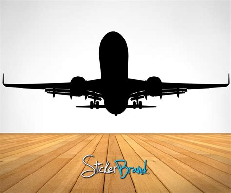 aeroplane wall stickers vinyl wall decal sticker airplane taking os es101