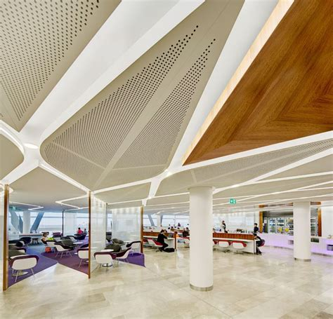 ceiling decor ideas australia virgin australia airport lounge sydney photograph by