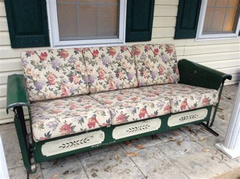 3 seat glider cushions 3 seat metal porch glider images
