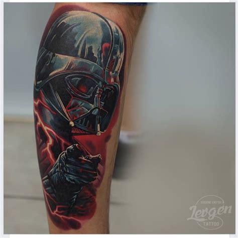 darth vader thigh tattoo geeky tattoos 19 amazing darth vader tattoo designs