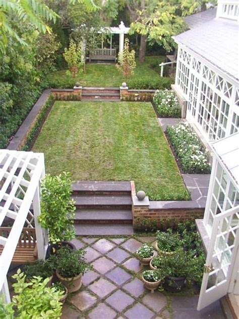 Rectangular Backyard Landscaping Ideas Rectangular Backyard Designs Rectangular Backyard Design Outdoor Furniture Design And