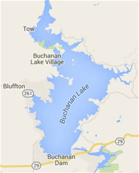 texas highland lakes map lake bucanan texas s striper fishing guide service friendly professional guide 512 825 8746