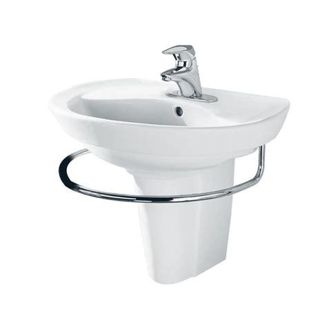 Towel Bar For Pedestal Sink american standard 3520 000 002 chrome ravenna 24 quot pedestal towel bar faucetdirect