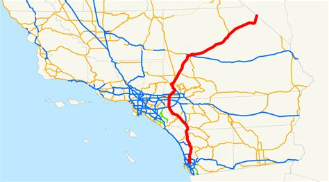 california map interstate interstate 15 images
