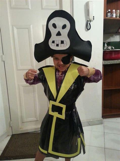 imagenes de disfraces de halloween reciclados jp es un pirata material reciclado disfraz disfraz