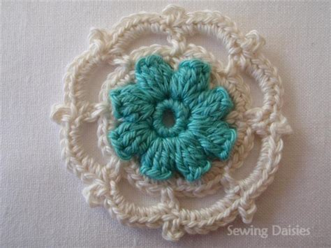 Square Wolfis Motif 1 beyond the square crochet motif 1 sewing daisies