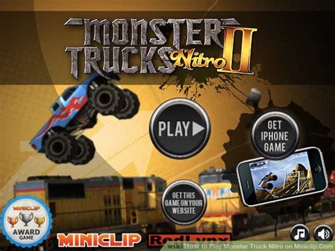 monster trucks nitro miniclip how to play monster truck nitro on miniclip com 6 steps