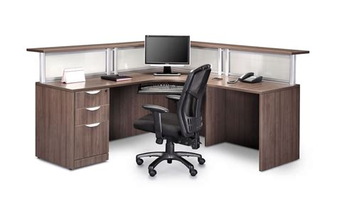 bureau reception l shaped reception desk reception furniture office