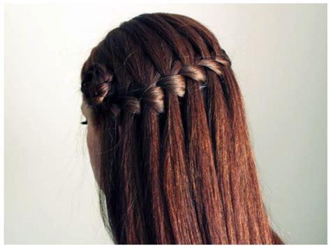waterfall braid boys and waterfall braid pixie black hairstyle 2017 ideas for