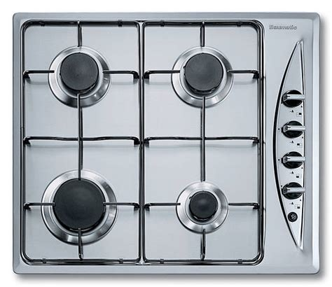 spider burners 60cm gas hob with spider pan supports stainless steel