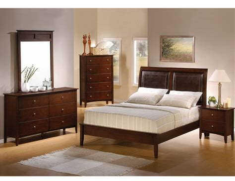 bedroom decor with dark furniture dark cherry bedroom furniture design and decor theme ideas