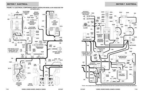 motor wiring 31212470704 scissorlift wiring diagram 99