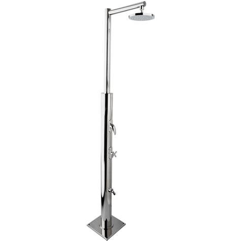 doccia da esterno doccia da esterno per piscina plutone in acciaio